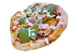 イタリア産生ハムのピッツァ(スープ付き)