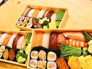 寿司折1人前 並寿司