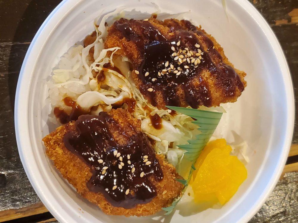 豚屋とんきい:味噌カツ丼