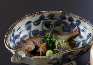 舞阪天然真鯛の煮付け〜地元野菜添え〜 大