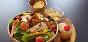 18種類の野菜を使ったサラダボール