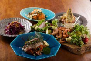 遠州灘産熟成魚のカルパッチョセット2〜3人前