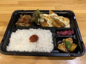 イカ天ぷらタルタルソース弁当