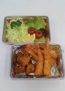 エビフライ・唐揚げセット