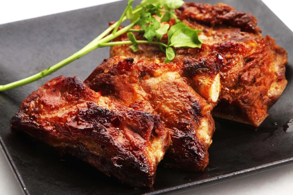 フォーハノイセカンド板屋町店:豚スペアリブ焼きレモングラス風味