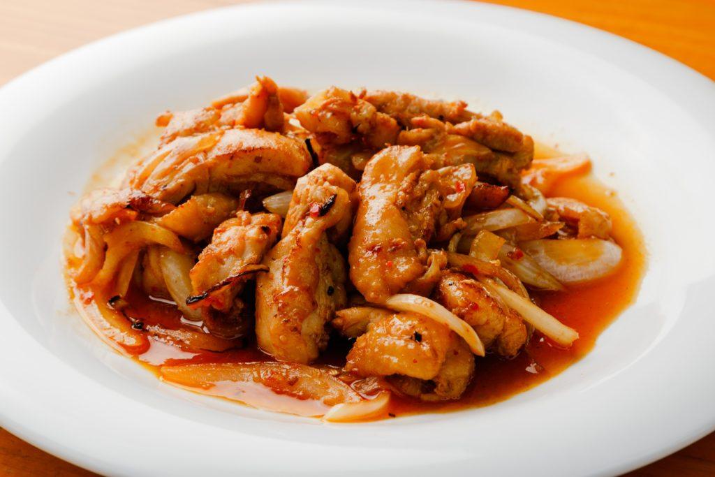 ォーハノイセカンド板屋町店:鶏肉のレモングラス炒め