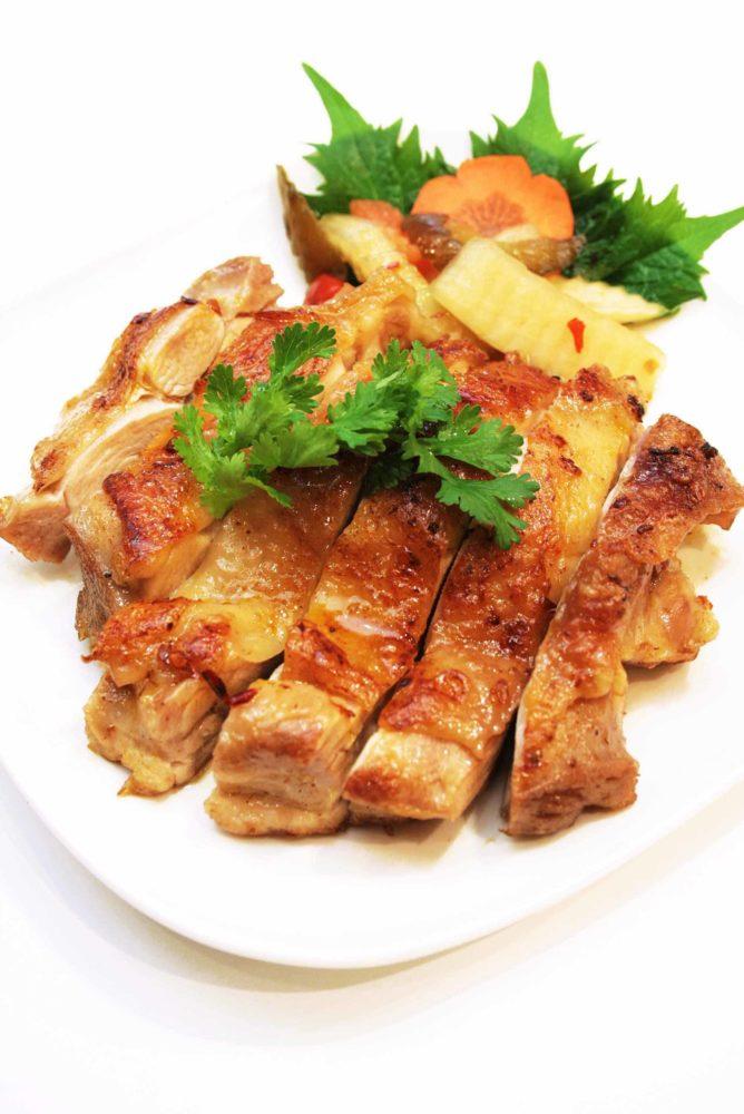 フォーハノイセカンド板屋町店:鶏肉のはちみつ焼き