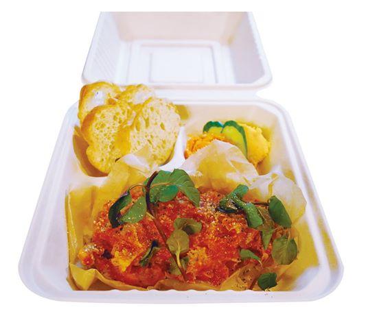 cafe&dining Passeretti:トリッパ煮込みBOX