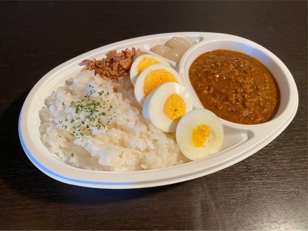 Charcoal Diningくら:キーマカレー