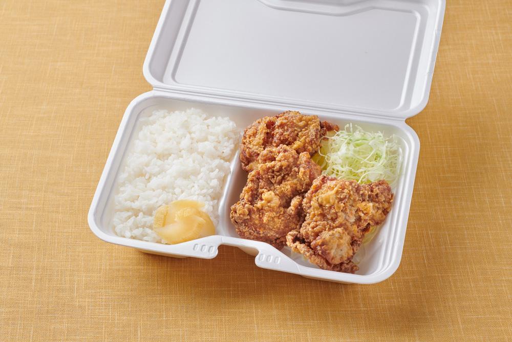 浜松とんとん庵:ジャンボから揚げ定食