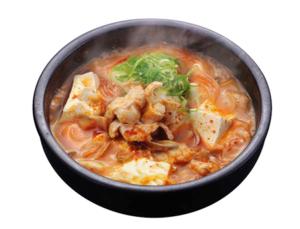 ホルモンスン豆腐