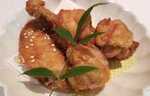 錦爽鶏の唐揚げ