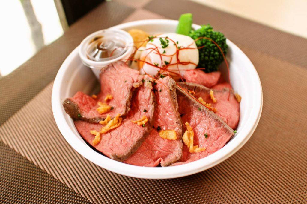 クロッシュ:ローストビーフ丼