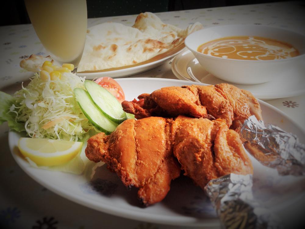 カレー&ナン専門店 タパ・インドレストラン タパ:タンドリーチキン