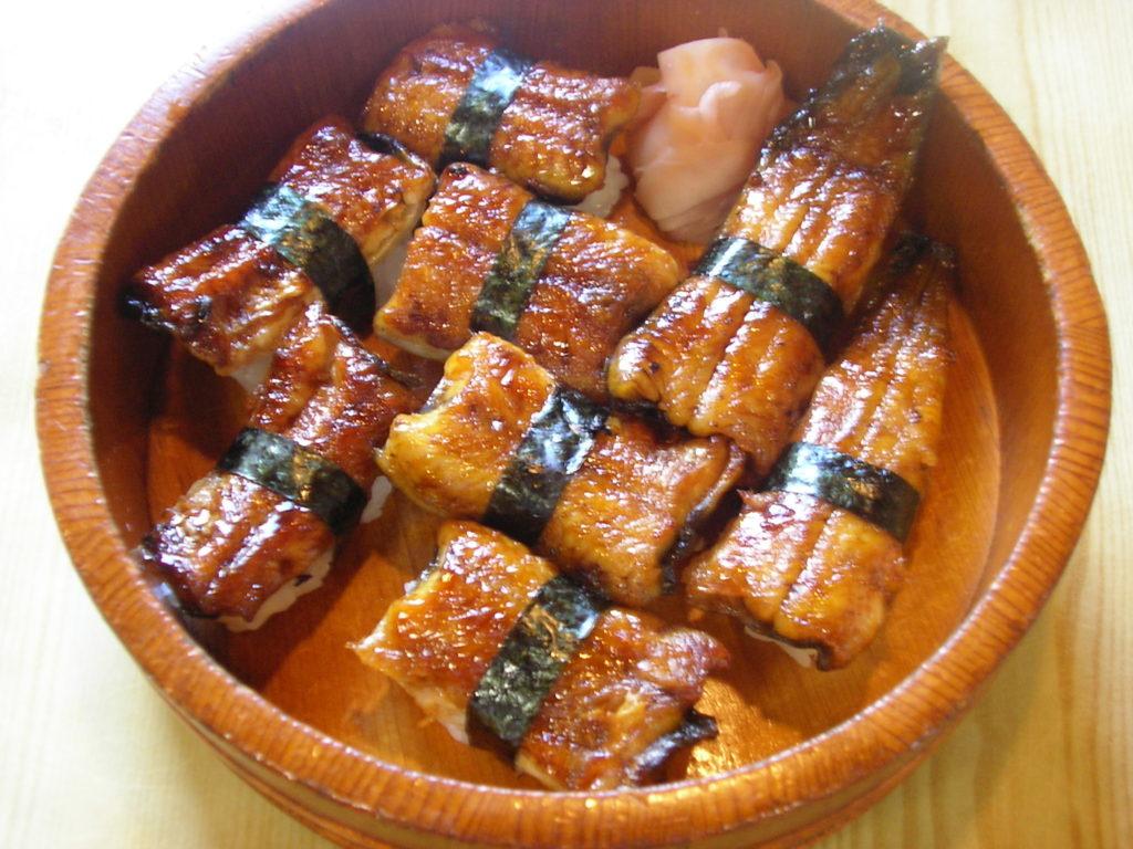 浜寿し:うなぎ寿司