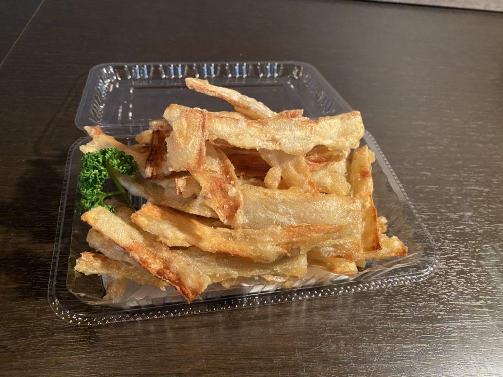 Charcoal Diningくら:ゴボウチップス