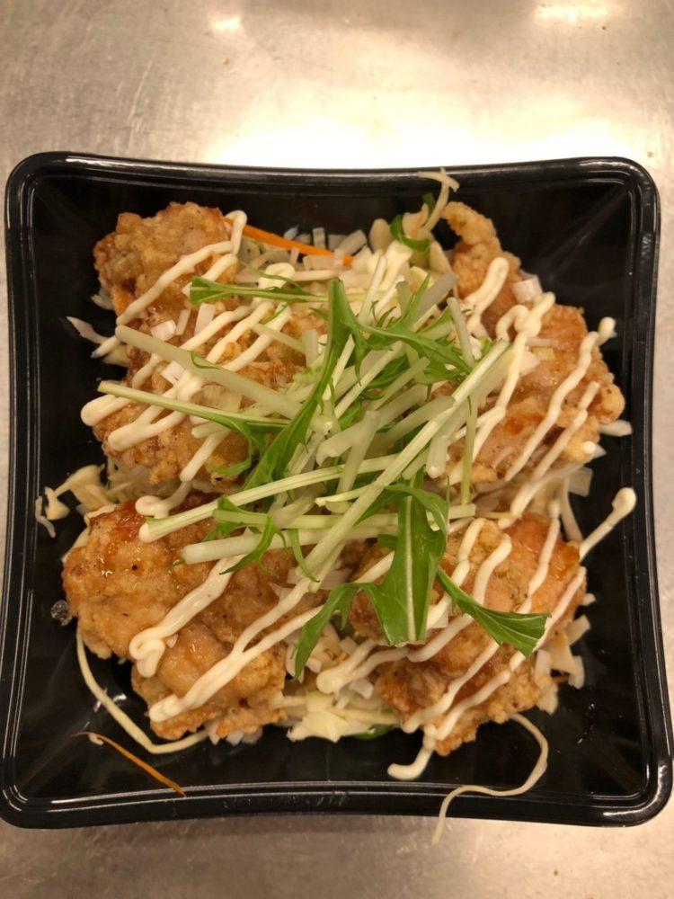 錦華楼中沢店:チキン南蛮丼