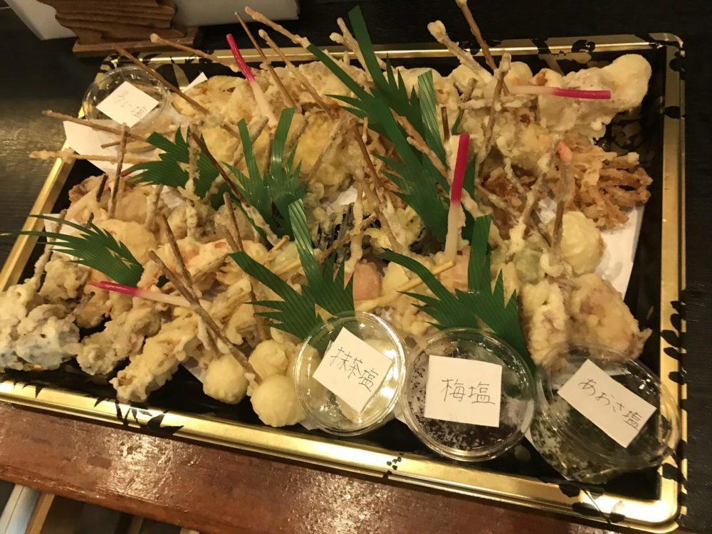 和食なかむら:天婦羅盛り