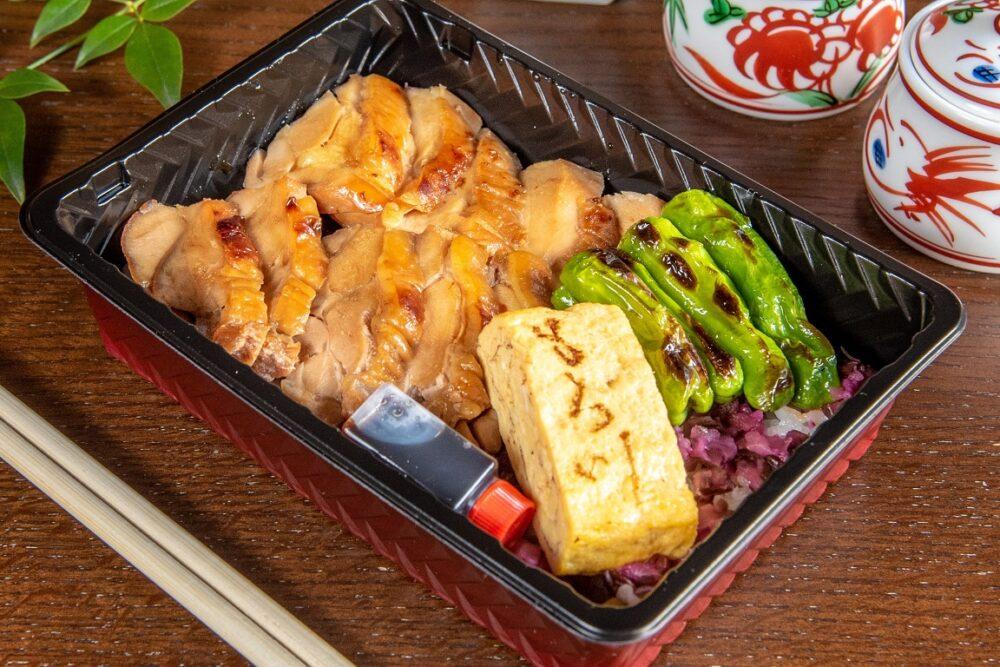 鳥焼もろ川:若鶏もも照り焼き弁当(特製タレ付)